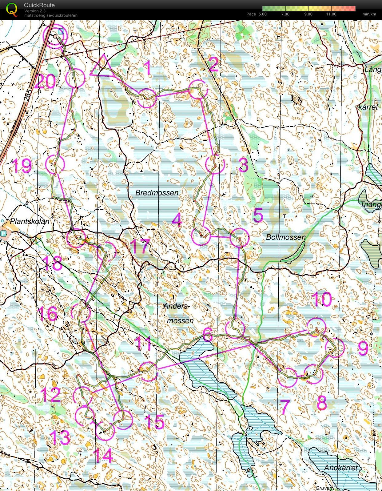 Lunsen  middle distance training (2011-06-19)