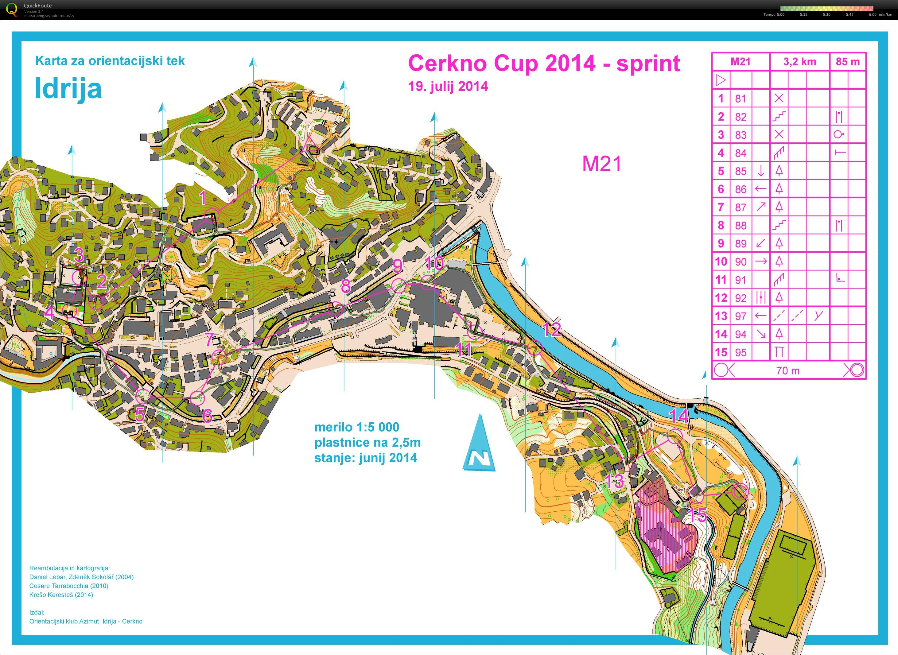 Cerkno Cup - Sprint (2014-07-19)