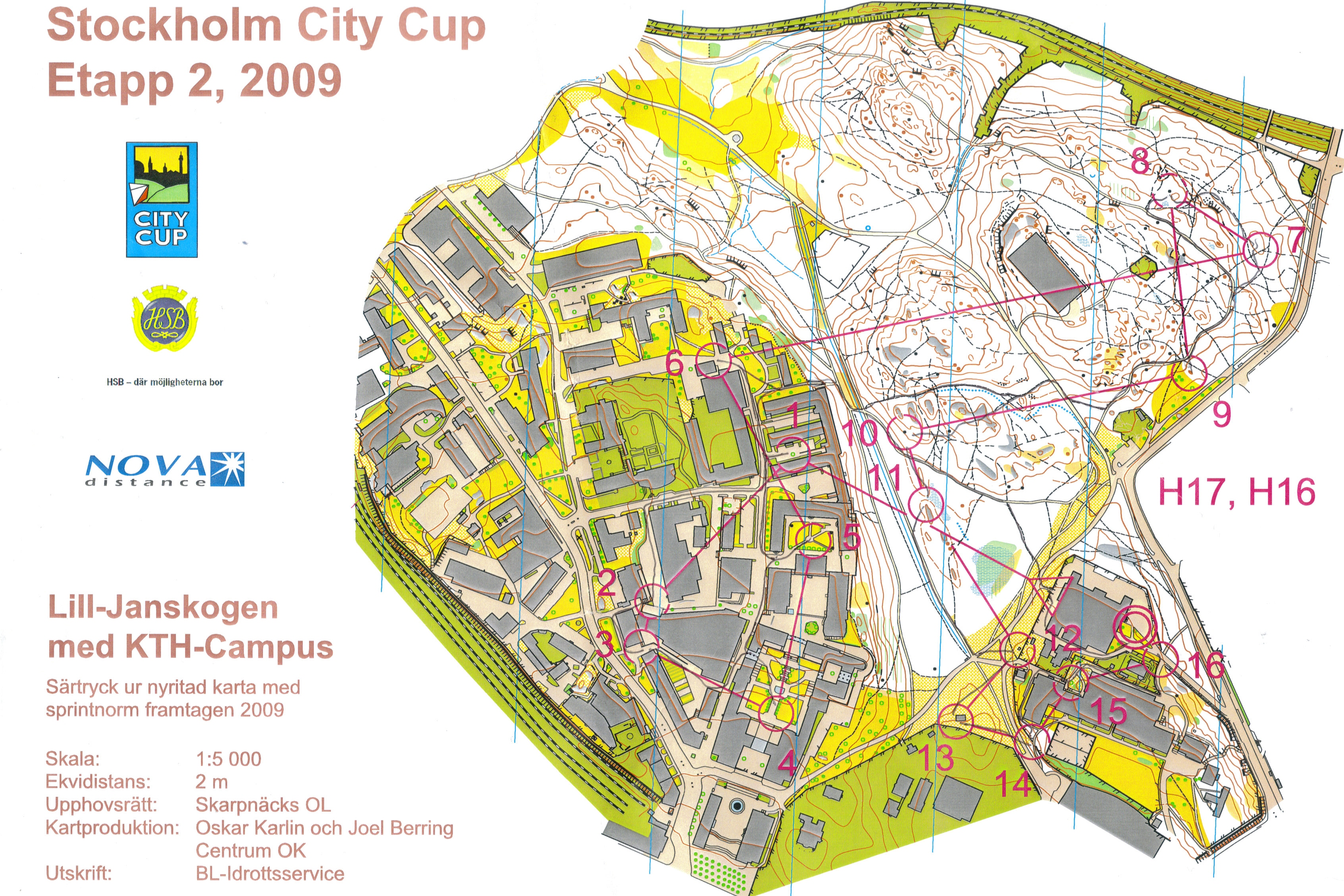 Stockholm City Cup 2 (2009-05-27)